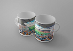 Tannadice on matchday mug